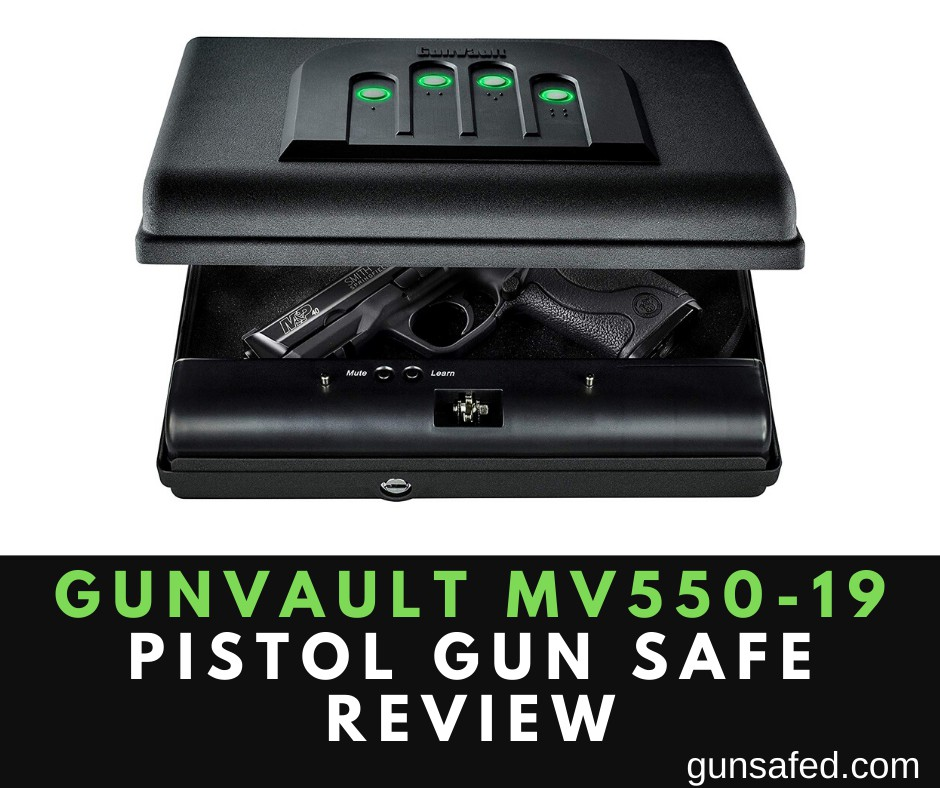 Gunvault MV550-19 Pistol Gun Safe Review