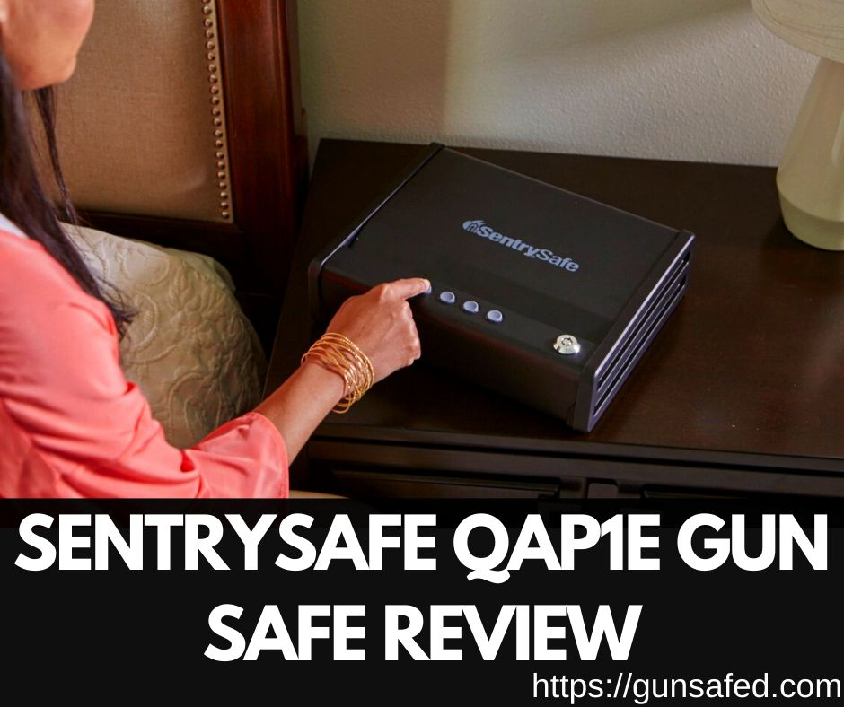 Sentry Quick Access Biometric Pistol Safe