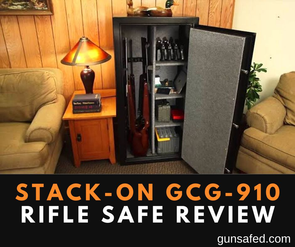 Stack-On GCG-910 Rifle or Gun Safe Review