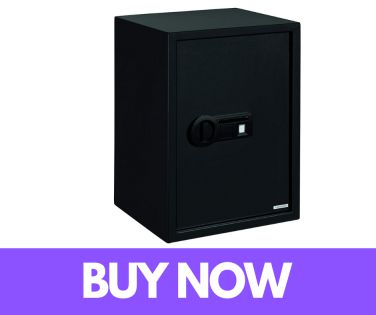 Stack-On PS-15-20-B Super Sized Large Biometric Safe