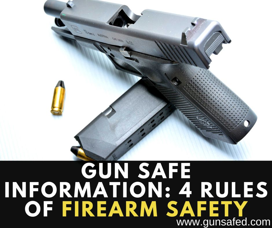 Four Rules of Firearm Safety