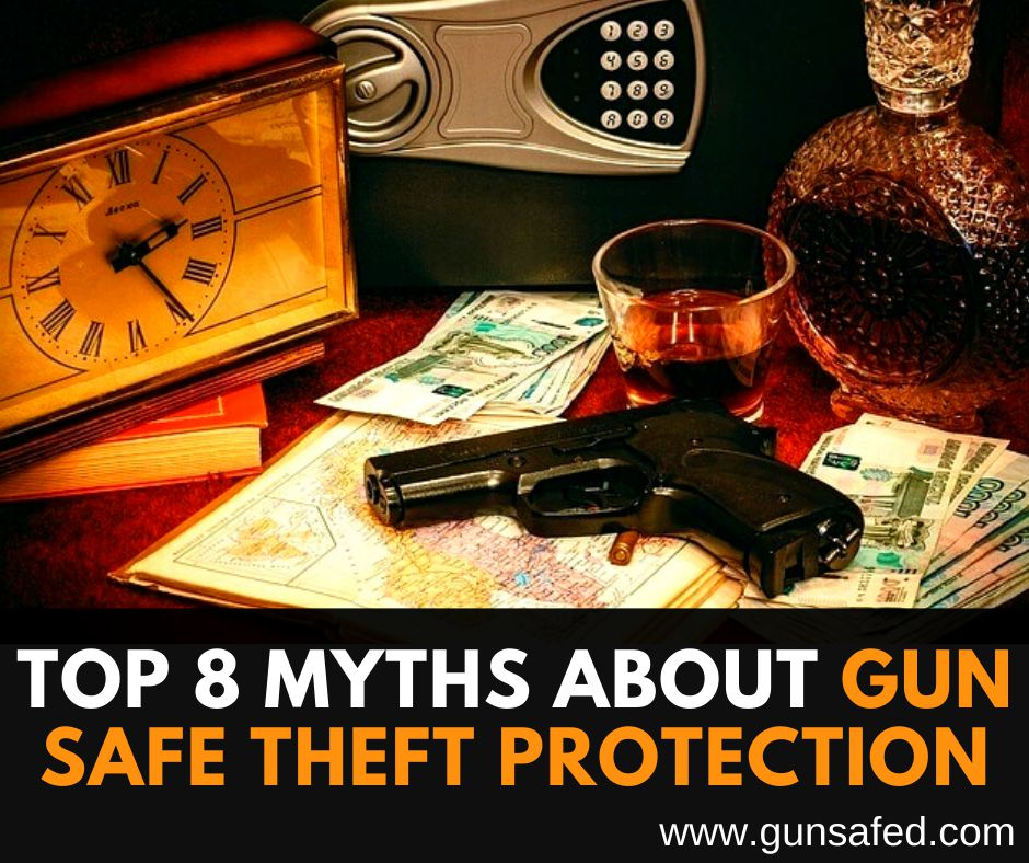 Top 8 Myths about Gun Safe Theft Protection